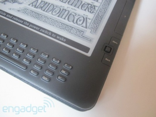 Fragment Kindle DX Graphite