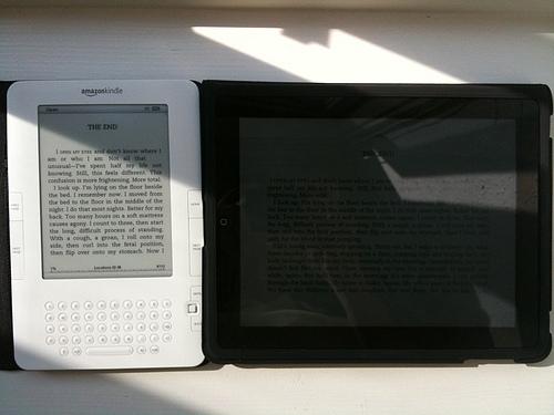 Porównanie Kindle oraz iPada
