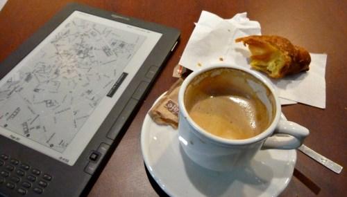 Czytanie przy kawie