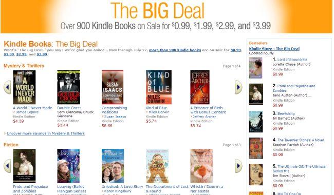Strona The Big Deal w Amazonie