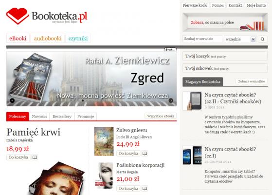 Bookoteka - strona główna