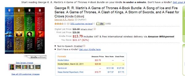 4 tomy Martina w Kindle Store