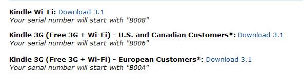 Wybór oprogramowania na stronie Amazona