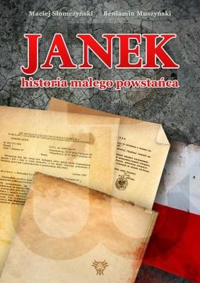 Okładka gamebooka Janek