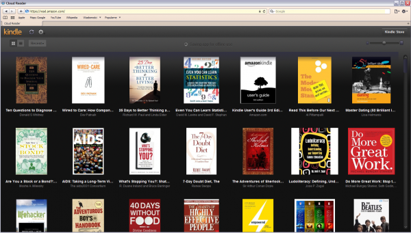 Strona główna Kindle Cloud Reader
