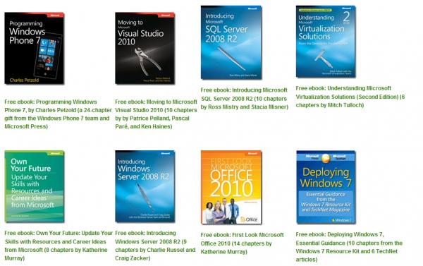 E-booki z Microsoftu