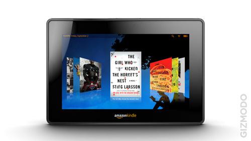 Wizualizacja tabletu Amazonu