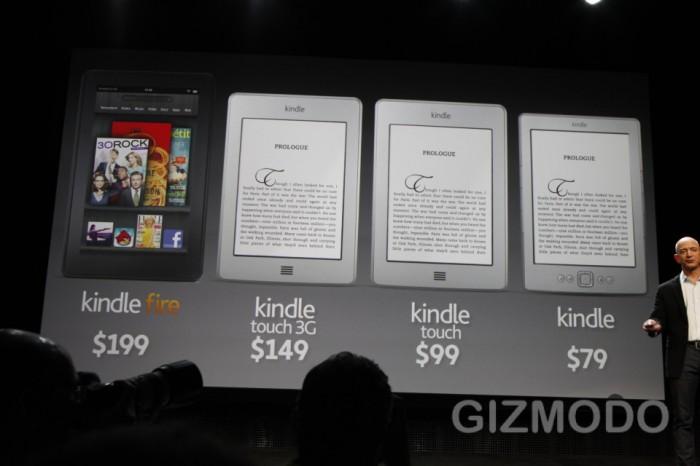 3 nowe Kindle oraz tablet
