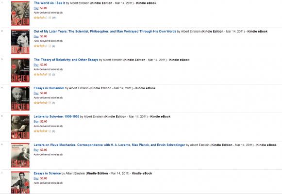7 książek Alberta Einsteina