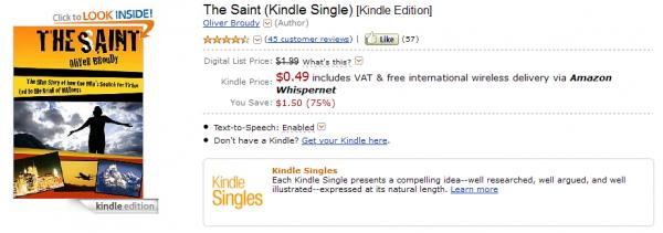 Książka The Saint w Kindle Store