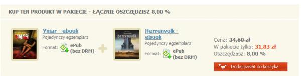 Pakiet: Herrenvolk + Ymar taniej o 8%