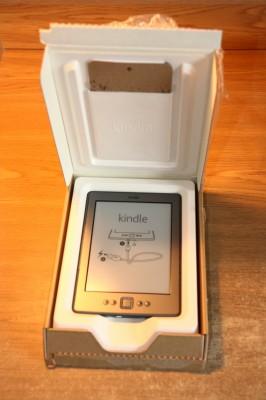 Kindle 4 w pudełku