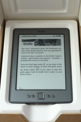 Instrukcja Kindle 4