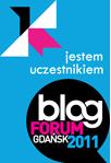 Baner - Uczestnik Blog Forum Gdańsk 2011