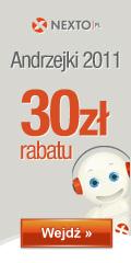 Andrzejki 2011 - 30% rabatu