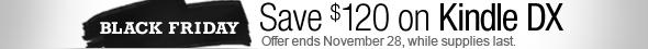 Zaoszczędź 120 dolarów, oferta kończy się 28 listopada