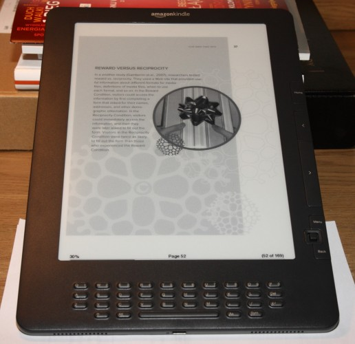Książka bogato sformatowana na Kindle DX