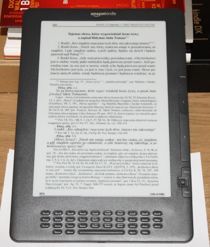 Apokryfy w PDF na Kindle DX