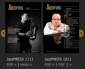 Linki poprawej stronie serwisu Radia Jazz