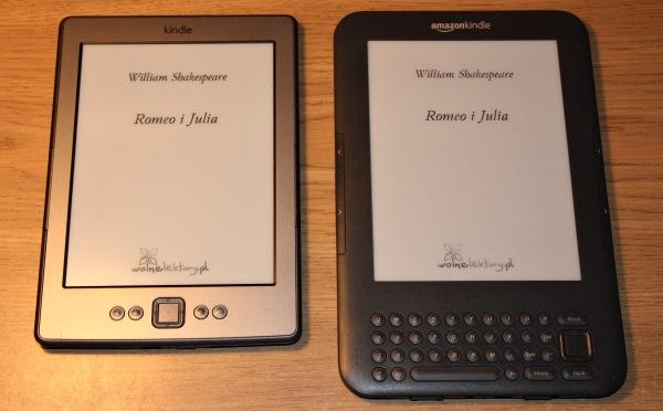 Okładka książki Wolnych Lektur na Kindle 3 i 4
