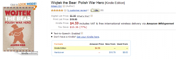 Wojtek The Bear w Kindle Store