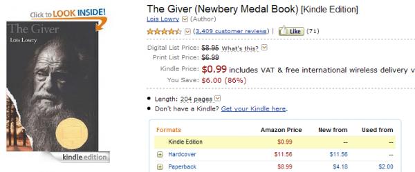 Giver na Amazon.com
