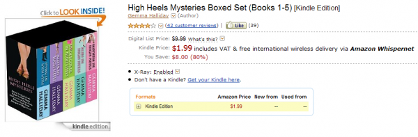 High Heals Mysteries boxed set