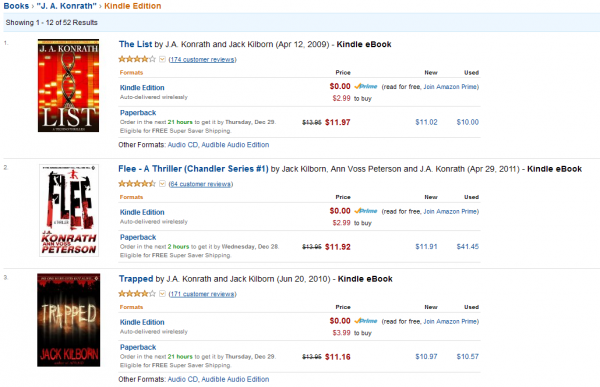 Książki Konratha w Kindle Store