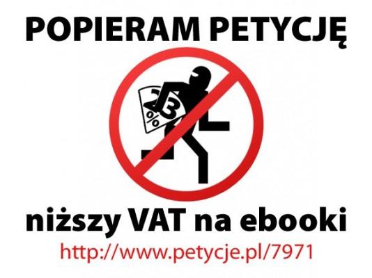 Petycja w sprawie VAT na e-booki