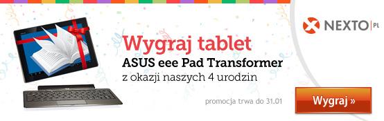 Urodzinowa promocja Nexto - wygraj tablet