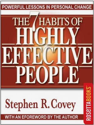7 habits of Highly Effective People - okładka