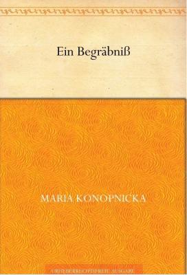 Okładka książki Konopnickiej w Kindle Store