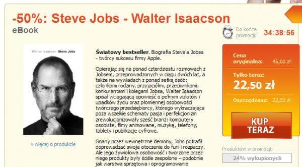 Jobs jako okazja dnia w Nexto