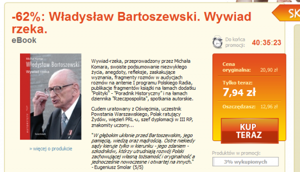 Bartoszewski wOkazji dnia