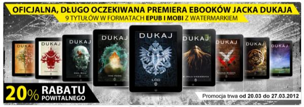 Premiera ebooków Jacka Dukaja