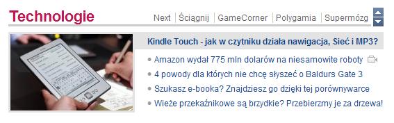 2x na stronie głównej gazeta.pl