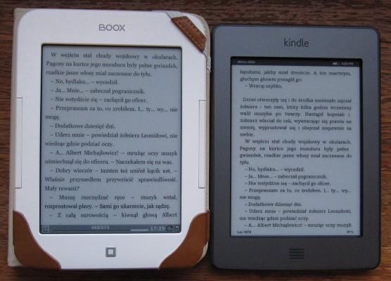Onyx Boox i Kindle Touch