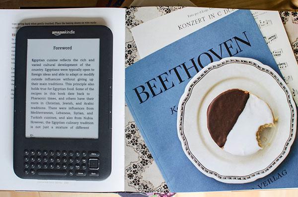 Kindle i coś smacznego :)