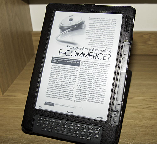 Magazyn na Kindle DX