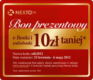 Bon prezentowy Nexto: kod sdk2012