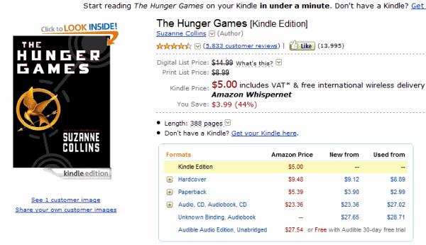 Hunger Games wAmazonie
