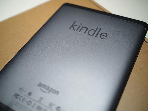 Kindle Touch odwrócony