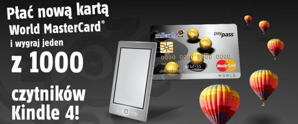 1000 czytników Kindle w mbanku