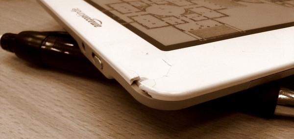 Uszkodzony Kindle 2