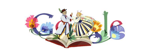 Reymont wGoogle Doodle