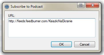 Zapis na podcast do iTunes
