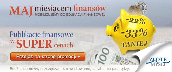 Miesiąc finansów w Złotych Myślach