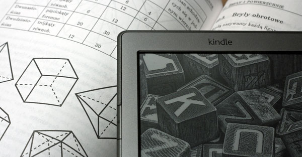 Kindle Classic i bryły