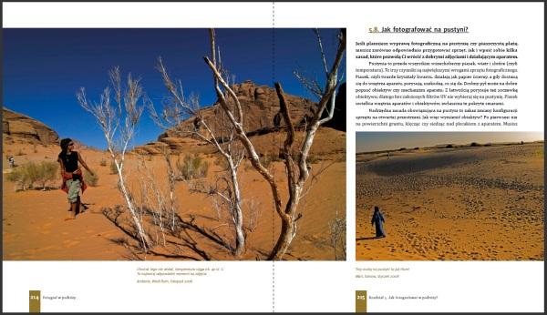 Fragment książki o fotografii w podróży w PDF