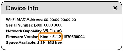 Kindle Touch 5.1.2
